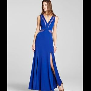 BCBG Sophee Royal Blue Gown